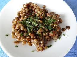 cuisiner les lentilles vertes salade de lentilles vertes du puy les recettes de donatienne