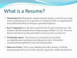 What Is The Skills In A Resume Career Project U2013 Part Iii Ppt Video Online Download