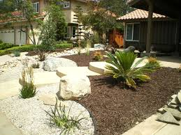 landscaping ideas backyard maintenance free garden ideas our tour low front and design