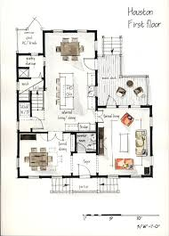 How To Sketch A Floor Plan Real Estate Color Floor Plan And Elevation 3 By Boryana Via