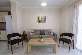 sea view living room meganisi apartment no 4 luxury apartments meganisi holidays