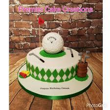 Golf Cake 1 Premier Cake Creations My Creations Pinterest