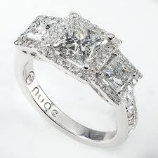 princess cut 3 engagement rings free rings princess cut three engagement