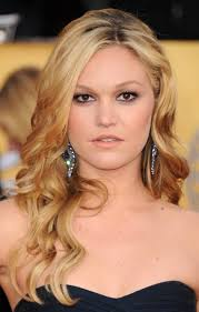 side swept bangs for ash blond hair with long waves