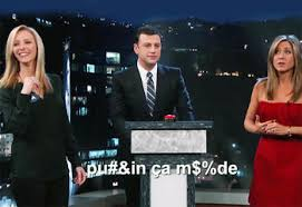 top aniston and kudrow s cursing contest