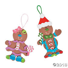 gingerbread ornaments foam gingerbread christmas ornaments makes 12
