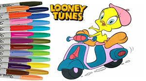 tweety bird coloring book looney toons colouring book