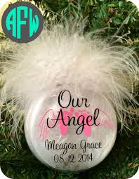 memorial baby ornament infant loss by afwifecreations