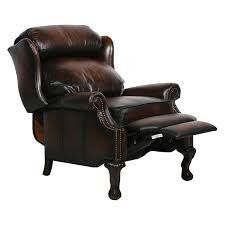 Rooms To Go Leather Recliner Barcalounger Danbury Ii Leather Recliner With Nailheads Hayneedle
