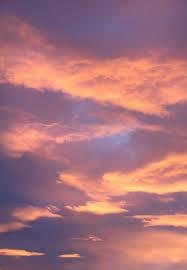 Sunset Orange by Orange Blue Cloudy Sky Free Stock Photo