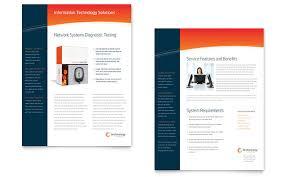 one page brochure template free datasheet templates 90 sle datasheets exles