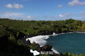 Black Sand Beaches Maui by Top 10 Things To Do On The Road To Hana Maui By Foot