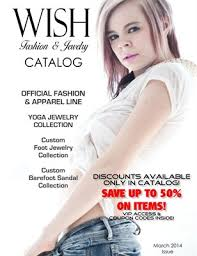 wish catalog collection wish fashion jewelry catalog magcloud