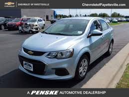 new chevrolet sonic at fayetteville autopark