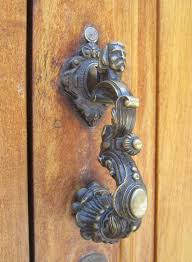 cool door knockers i dig hardware knock the vote