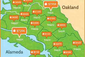 Bart Map Oakland by Oakland Home Prices Nearly Double Over Two Years Curbed Sf