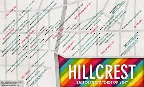 Map San Diego Map Of Hillcrest U2013 San Diego U0027s U201cden Of Sin U201d U2013 San Diego Survival Guide