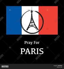 French Flag Eiffel Tower Peace Logo Eiffel Tower Background Vector U0026 Photo Bigstock