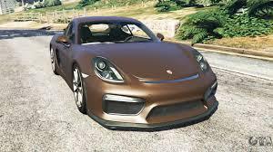 cayman porsche convertible porsche cayman gt4 2016 v1 1 for gta 5