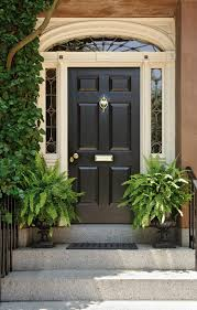 Exterior Door Wood Shut The Front Door What You Need To To Make A Grand