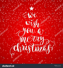 we wish you merry stock vector 494424856
