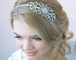 bridal headbands bridal headbands etsy