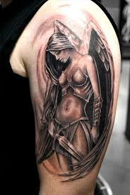 20 shining angel tattoos sent from heaven inkdoneright