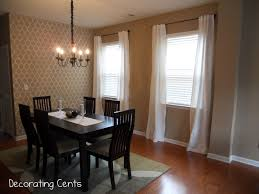 drapery panels for a gray dining room driven by decor linen