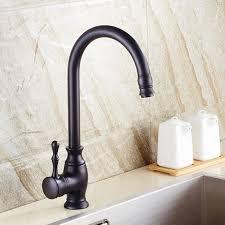 robinet cuisine cuivre bronze huilé robinet de cuisine vintage cuivre pont monté robinet