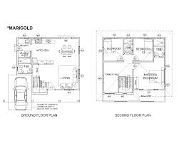 Model House Plans Marigold House Model Solanaland Development Inc