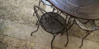 cast iron outdoor table why you should buy cast aluminum patio furniture