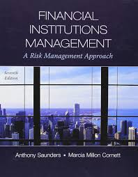 financial institutions management a risk management approach