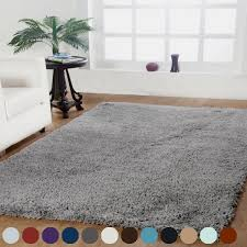 Shag Rug Solid Plush Shag Rug Assorted Colors And Sizes Dailysale