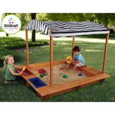 kidkraft outdoor sandbox with canopy 00165 home outdoor decoration