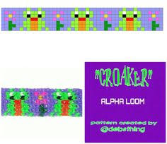 grid pattern alpha new cat kitten bracelet alpha loom rainbow loom grid pattern
