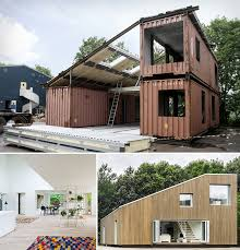 architecture creative upcycled shipping container house