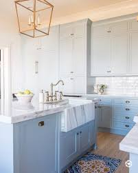 light blue cabinets kitchen light blue kitchen cabinets interiors by color 4 interior
