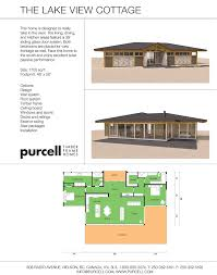 purcell timber frame homes the lake view cottage prefab home