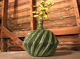 halloween ceramic molds how to make a ceramic cactus vase hgtv