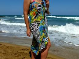 Sarong Beach cover up Resort wear Christmas gift Beach coverup  Etsy