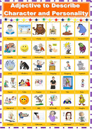217 free esl adjectives to describe personality and character