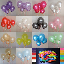 helium birthday balloons 100pcs 10inch helium thickening wedding party birthday