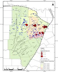 Texas which seismic waves travel most rapidly images Ellenburger wastewater injection and seismicity in north texas jpg