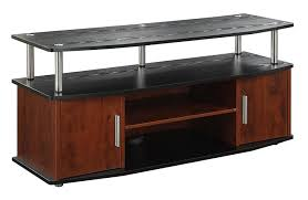 cherry wood tv stands cabinets amazon com convenience concepts designs2go monterey tv stand