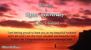 wedding wishes husband to marriage anniversary wishes to husband wishes4smile