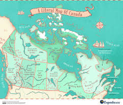 A Map Of Canada by Map Reveals Name Origins Of Canada U0027s Provinces And Territories