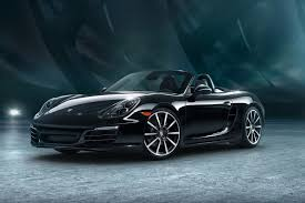 porsche boxster black edition here s your gallery of porsche s 911 and boxster black editions