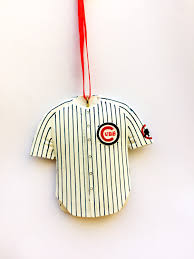 chicago cubs personalized christmas ornament chicago cubs