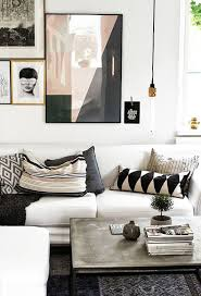 modern living room decor ideas beautiful living room with white tray tables from hay and a grey