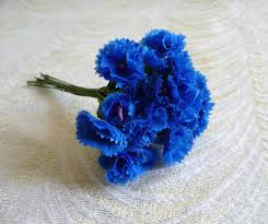 bachelor buttons bright blue bachelor buttons or cornflowers millinery flowers